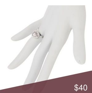 MARC JACOBS HEART CHARM RING